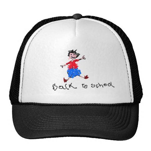 Young Boy - Back To School Hat