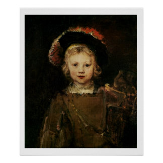 Young Boy in Fancy Dress, c.1660 (oil on canvas) Poster