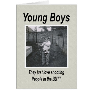 Young Boys Motherhood Moments Card