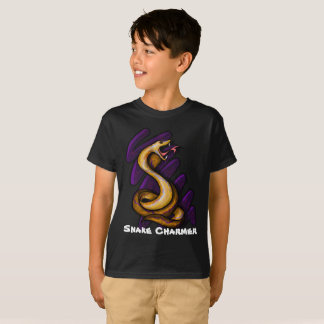 Young Boy's Snake Charmer T-Shirt