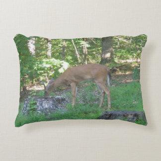 Young Buck Reversible Throw Pillow