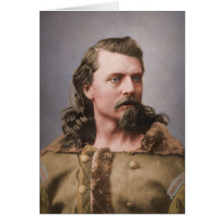 Young Buffalo Bill Greeting Card