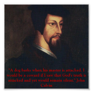 Young Calvin quote Poster