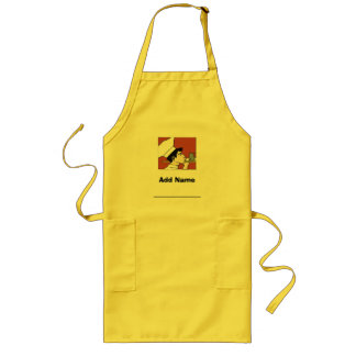 Young Chef Apron, add name Long Apron