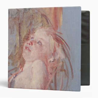 Young Child in its Mother's Arms Vinyl Binder