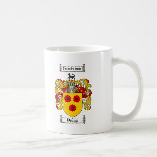 Young Coat of Arms / Young Family Crest Coffee Mug