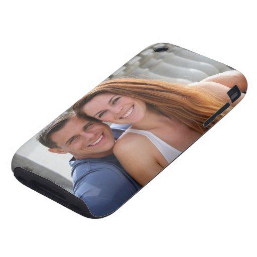 Young Couple Bridge Tough iPhone 3 Cases