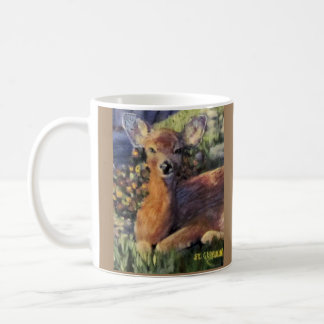 Young Deer Coffee Mug