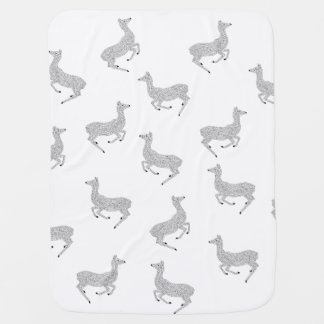 Young Deer in the Wild Baby Blanket