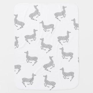 Young Deer in the Wild Baby Blanket