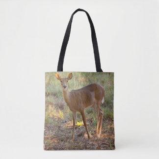 Young Deer Tote Bag