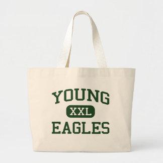 Young - Eagles - Junior - Arlington Texas Jumbo Tote Bag