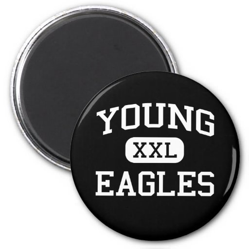 Young - Eagles - Junior - Arlington Texas Refrigerator Magnet