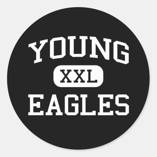 Young - Eagles - Junior - Arlington Texas Stickers