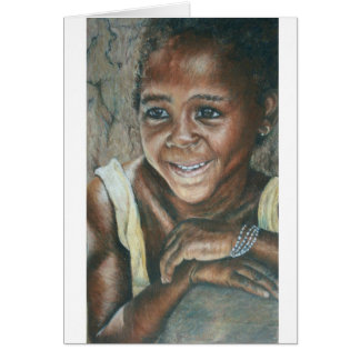 Young Girl, Koulikoro Card
