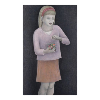 Young Girl with Sweets 2007 Poster