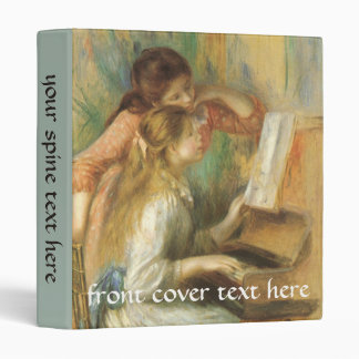 Young Girls at Piano by Pierre Renoir Binders
