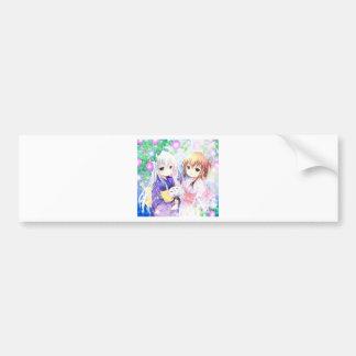 Young Girls In Yukata Bumper Sticker