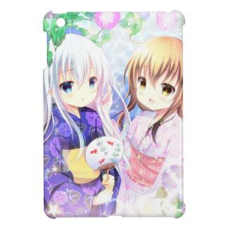Young Girls In Yukata Case For The iPad Mini