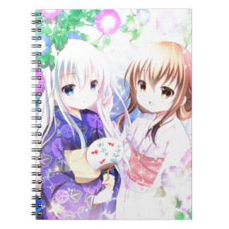 Young Girls In Yukata Notebook