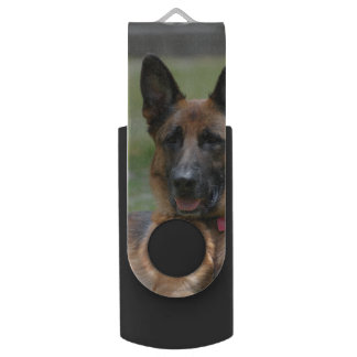 Young GSD Swivel USB 2.0 Flash Drive