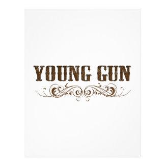 young gun customized letterhead