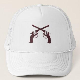 YOUNG GUN: WHITE TRUCKER HAT