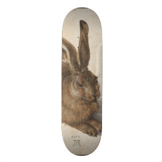 Young Hare by Albrecht Durer Skate Board