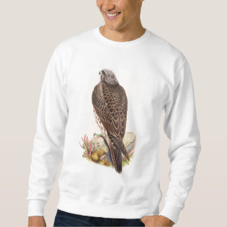 Young Iceland Falcon Gould Birds of Great Britain Sweatshirt
