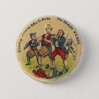 Young John McCain Button