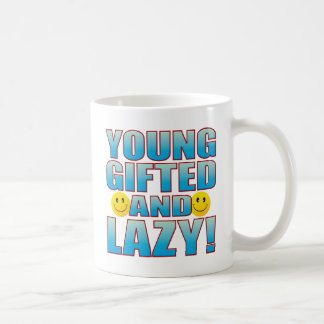 Young Lazy Life B Coffee Mug
