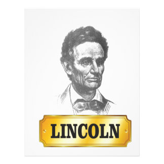 young lincoln customized letterhead