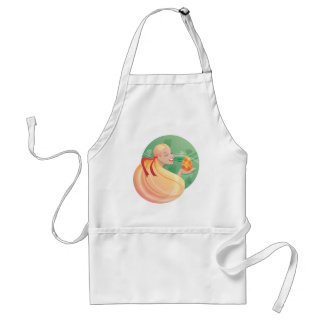 young long hair girl Easter Aprons