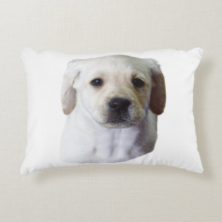 Young Lovely Lab Decorative Pillow