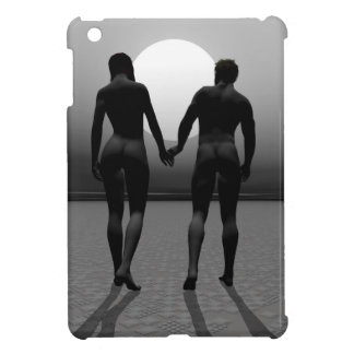 Young lovers by moonlight cover for the iPad mini