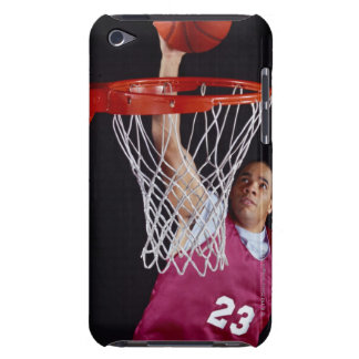 Young Man Making a Basket Barely There iPod Case