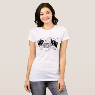 Young Man Tortoise Women's Fitted T T-Shirt