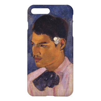 'Young Man With a Flower' - Paul Gauguin iPhone 8 Plus/7 Plus Case