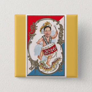 Young Marco Rubio 2016 2 Inch Square Button