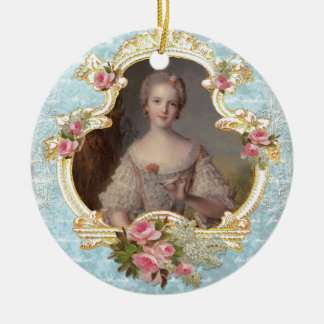 Young Marie Antoinette Christmas Ornament