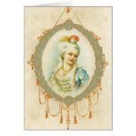 Young Marie Antoinette Portrait Greeting Card