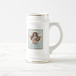 Young Marie Antoinette with Pink Roses Mug