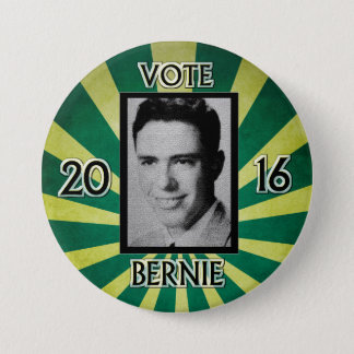 Young Mister Sanders 3 Inch Round Button