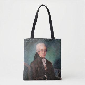 Young Mozart Portrait 1777 Tote Bag