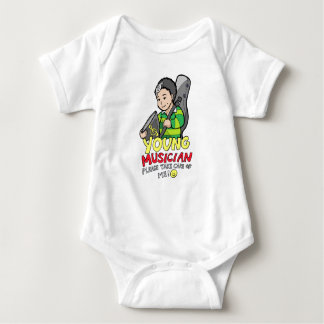Young Musician Baby Bodysuit