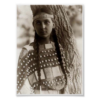 Young-Native-American-Girl Poster