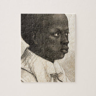 Young Negro by Wenceslaus Hollar Jigsaw Puzzle