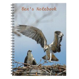 Young Ospreys Hawks Bens Notebook