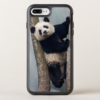 Young Panda climbing a tree, China OtterBox Symmetry iPhone 8 Plus/7 Plus Case