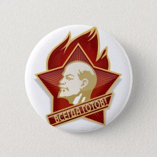 Young Pioneers Lenin Ленин Communist Soviet Union 2 Inch Round Button